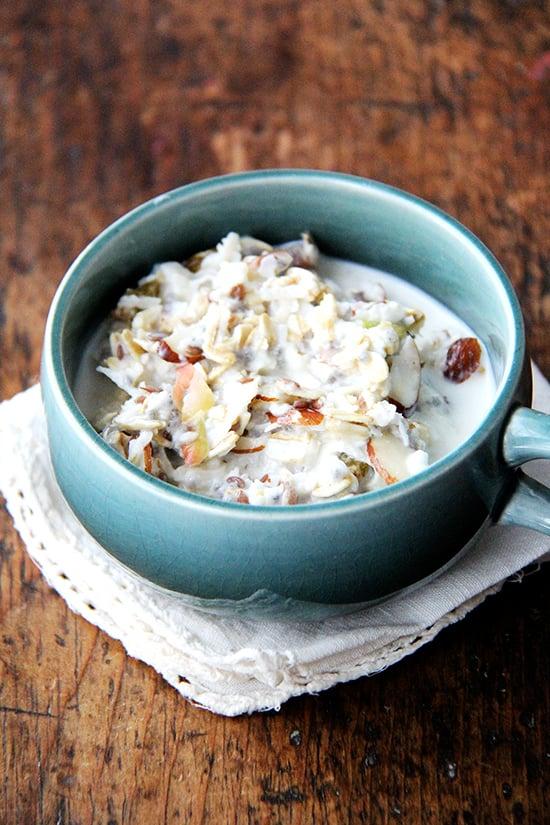 Homemade Muesli (AKA Cold Oatmeal)
