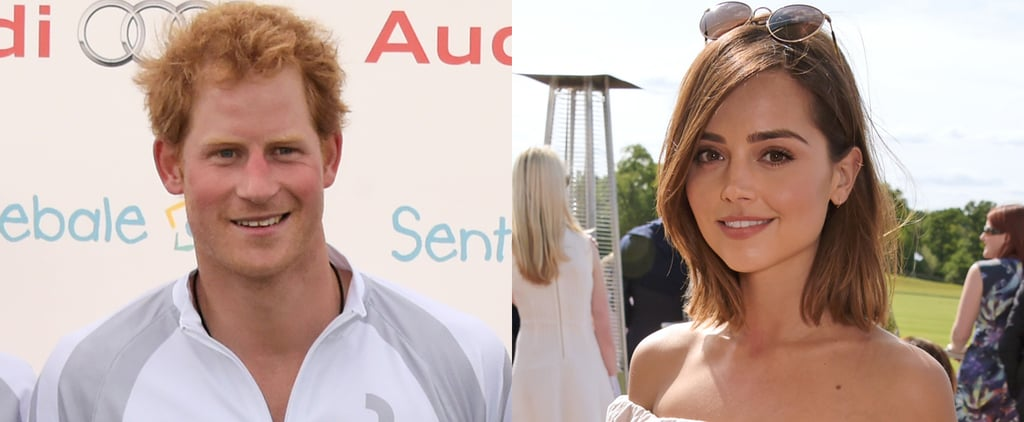 Prince Harry Reportedly Flirts With Jenna Coleman