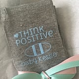 Personalized Think Positive Knee High Fertility Socks