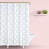 Kate Spade New York Fern Trellis Shower Curtain