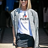 Style Your T-Shirt With: A Skirt and Blazer