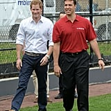 Harry and Mark Teixeira