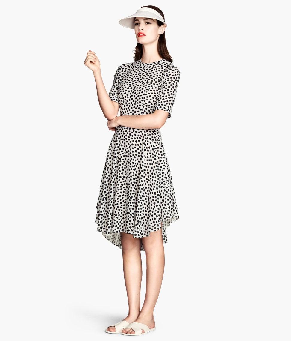 4da7ab9e67 H&M Black and White Polka-Dot Dress | You'll Never Believe Where We ...