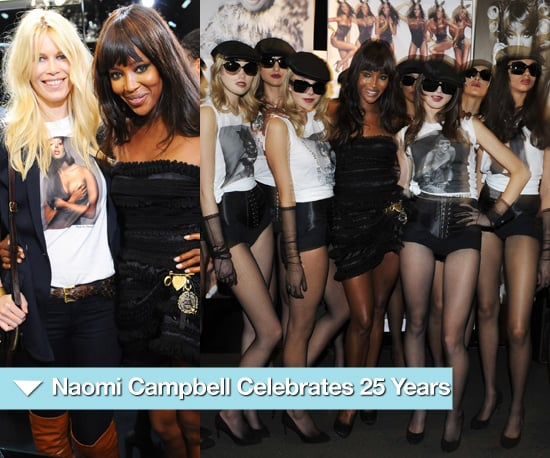 Photos of Naomi Campbell's Dolce and Gabbana Party in London