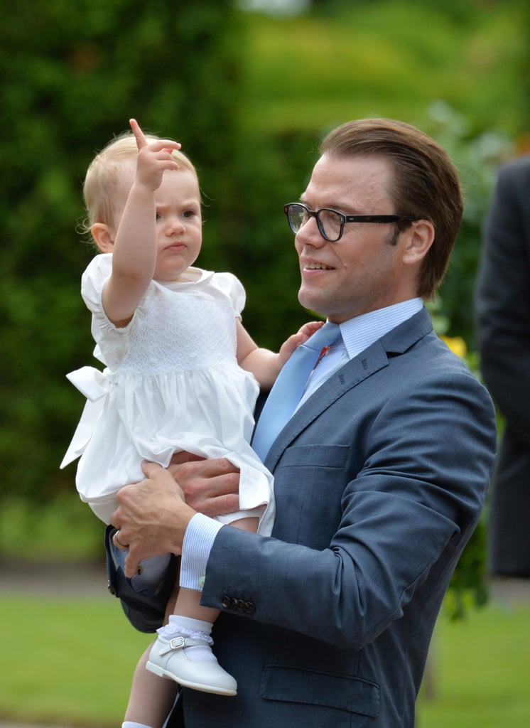 Princess Estelle looked ready to rule.