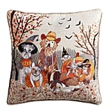 Dog and Cat Trick or Treat Pillow