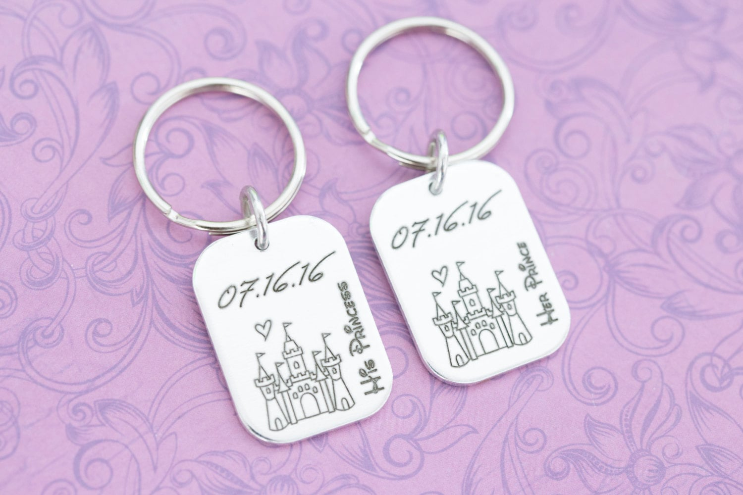 Engraved Keychains | 22 Adorable Holiday Gifts For Couples
