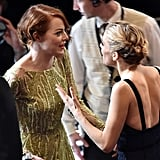 Emma Stone Met Up With Sienna Miller
