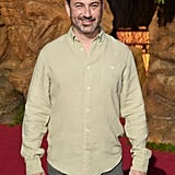 Pictured: Jimmy Kimmel at The Lion King premiere in Hollywood.