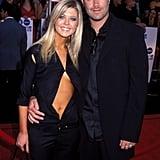 Tara Reid et Carson Daly en 2000