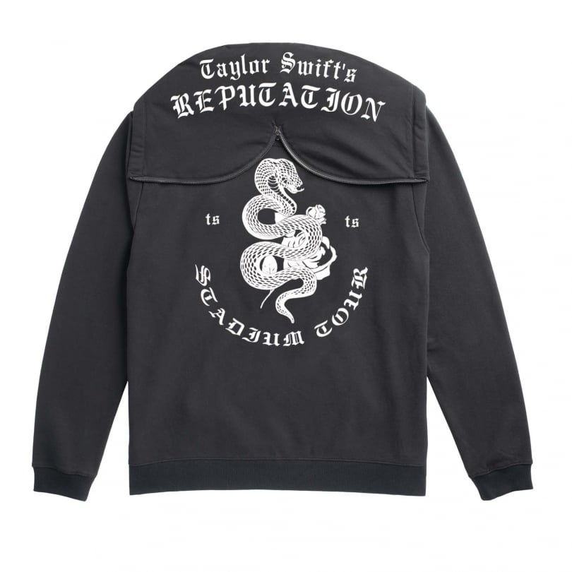 Blake Tour Hoodie With Snake Design