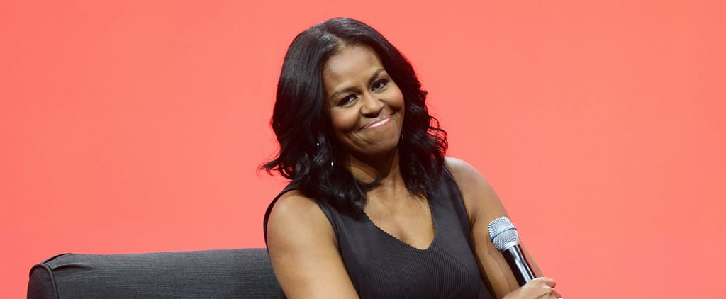 Michelle Obama Shades Donald Trump's Twitter Habits