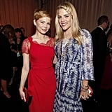 Busy Philipps accompanied pal Michelle Williams to the 2012 SAG Awards.