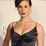 An upswept hairdo and moody lips looked gorgeous on Elettra Wiedemann at the opening night Fall gala for the American Ballet Theatre.