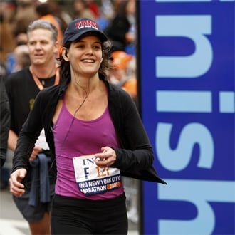 New York City Celebrity Marathon Runners