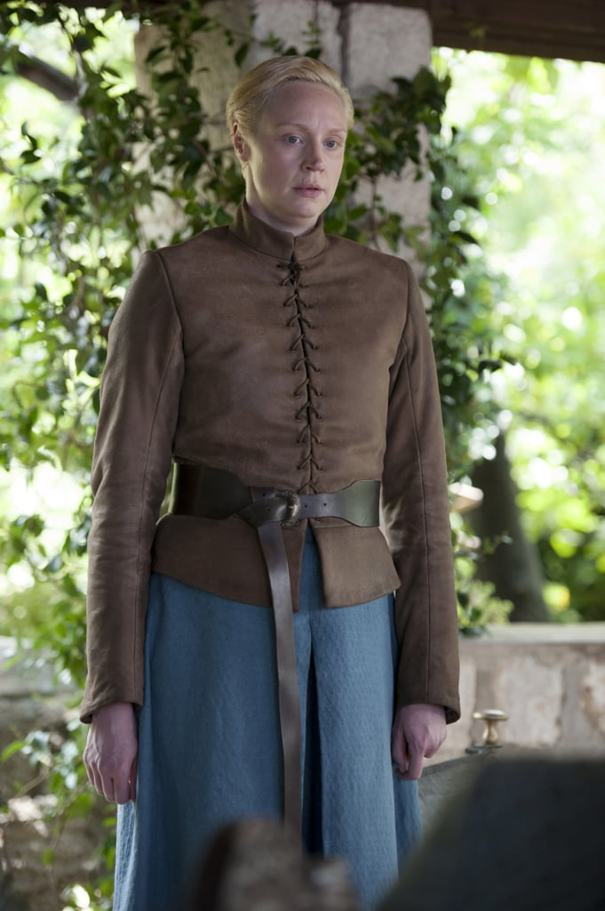 Brienne looks more comfortable in armor.