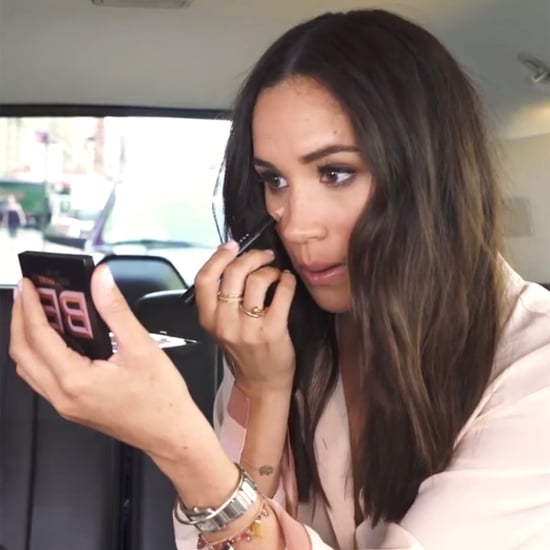 Meghan Markle Did Her Makeup in the Back of an Uber