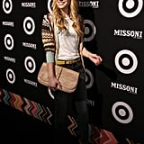 Emma Roberts walked the red carpet at Missoni for Target in NYC.