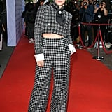 Kristen Stewart at the Knives Out Premiere