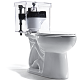 A Toilet That Saves Gallons Per Flush