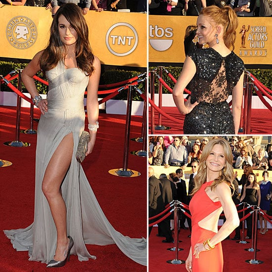 SAG Awards Trend Report: Sexy Slits and Cutouts