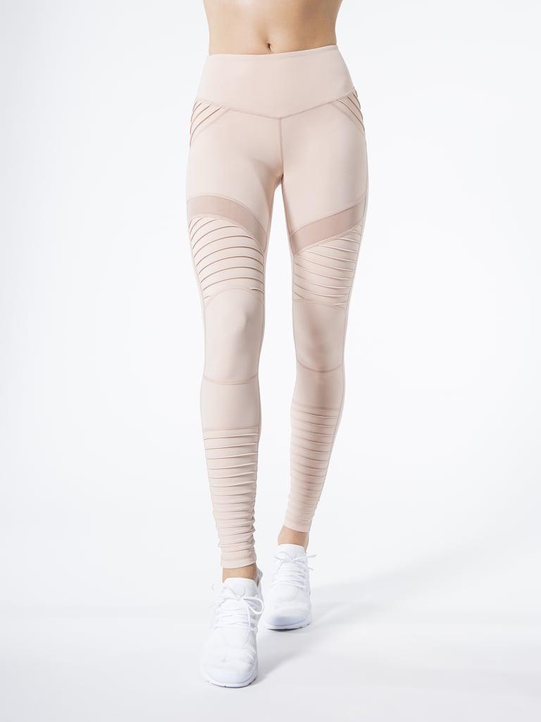 070dc5d487281 L'urv Fever Pitch Moto Legging | Pink Workout Clothes | POPSUGAR ...