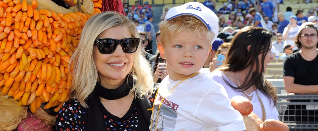 "Fergie's ""Enchanté"" Video Features an Adorable Snippet of Her 4-Year-Old Son's Voice"