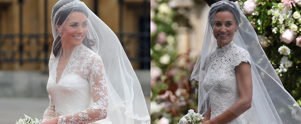 Kate Middleton and Pippa Middleton Wedding Photos
