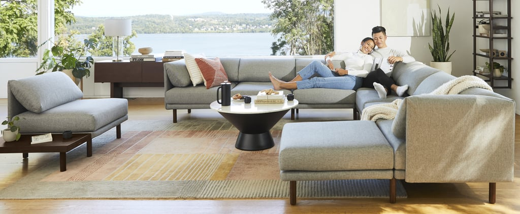 Burrow's New Modern Range Collection Sofas