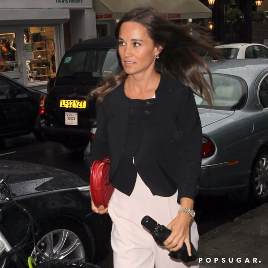 Pippa Middleton Heart Shaped Clutch