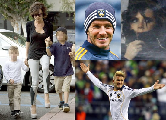 Photos of Victoria Beckham and the Boys Watching David Beckham MLS Cup Final