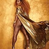 Serena Williams's Unretouched Photos in Harper's Bazaar 2019