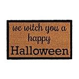 We Witch You Halloween Doormat
