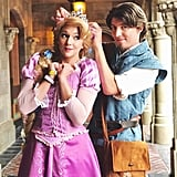 Rapunzel and Flynn Rider From Tangled