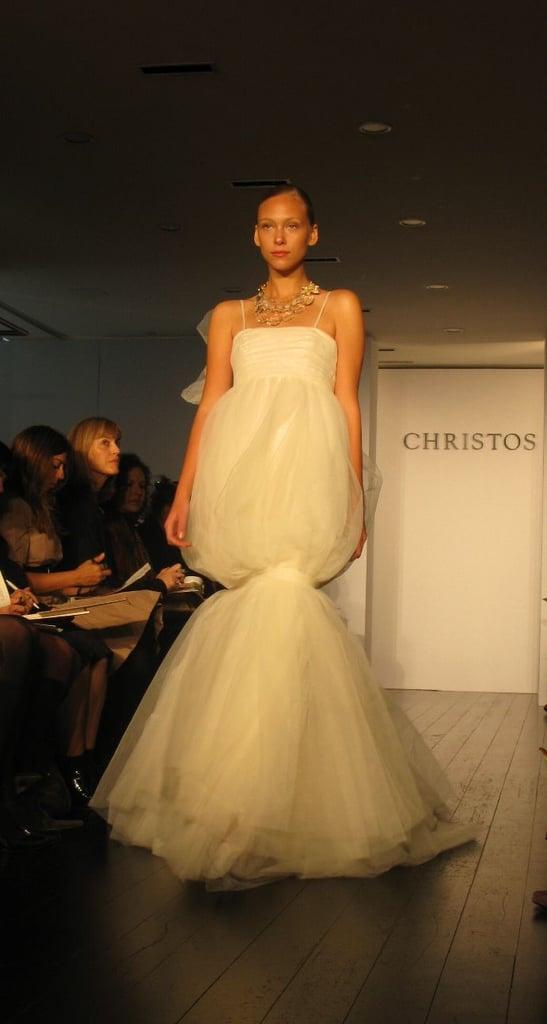 New York Bridal Market: Christos Fall 2009