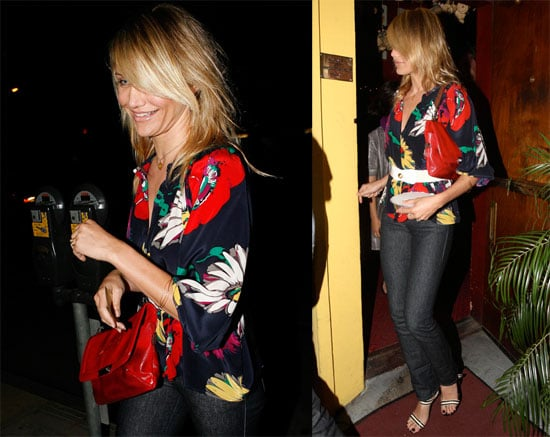 Photos of Cameron Diaz out in LA