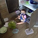 Toss Around the Tupperware