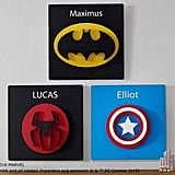 Pottery Barn Kids Batman Plaque