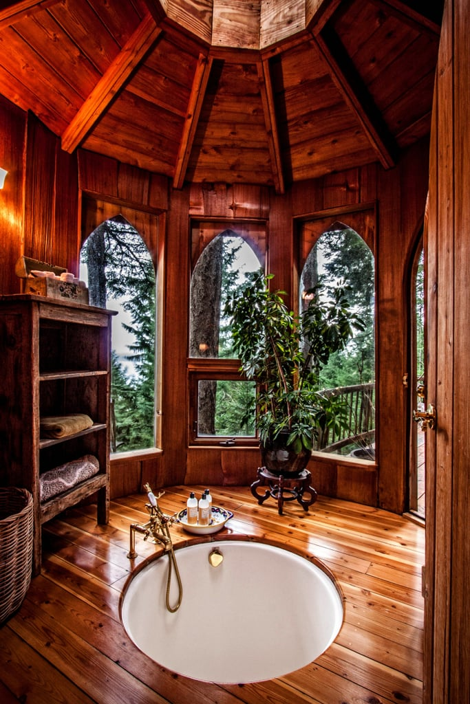 tree house rental in washington popsugar smart living