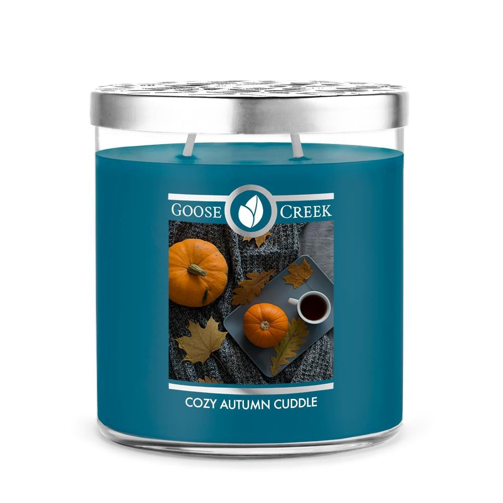 Goose Creek Cozy Autumn Cuddle Large Jar Candle