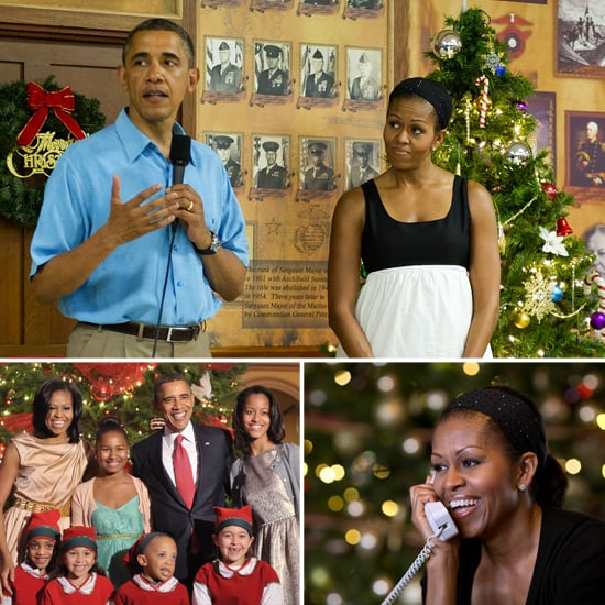 Obama Family Christmas 2012