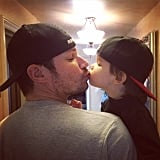 Nick and Vanessa Lachey Cute Family Pictures
