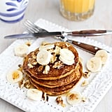 Whole Wheat Gingerbread Pumpkin Pancakes