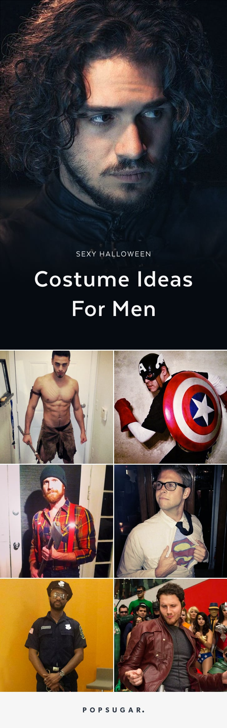 Halloween Looks For Guys.Hot Halloween Costume Ideas For Guys Popsugar Love Sex