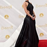 Lizzy Caplan in Donna Karan at the 2014 Emmy Awards