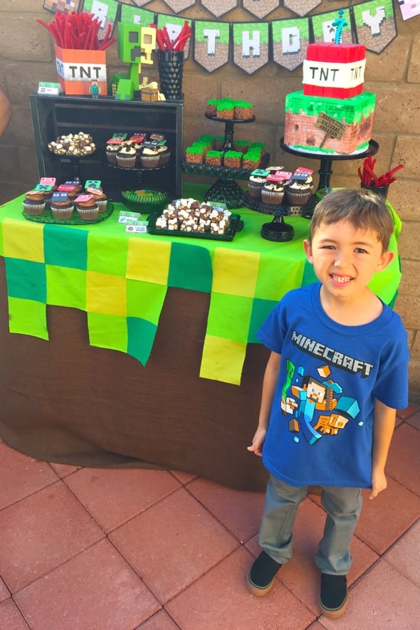 Minecraft Birthday Party Idea POPSUGAR Moms Photo 14