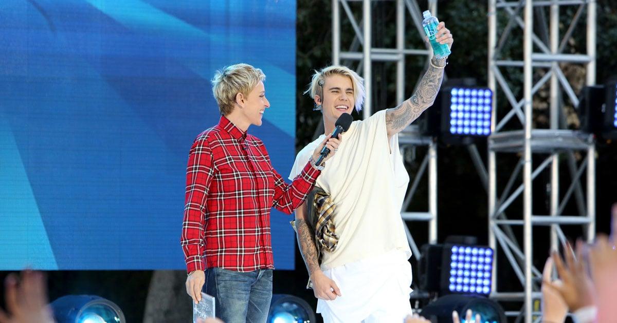 Justin Bieber Concert Surprise on Ellen November 2015