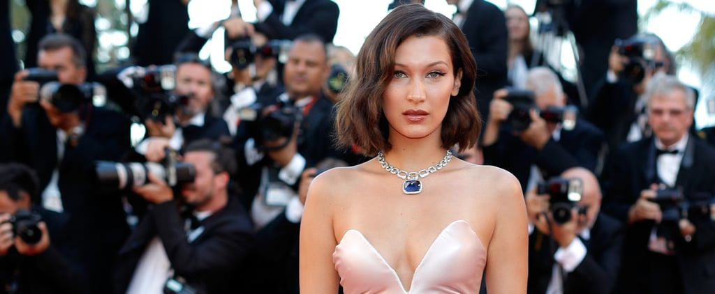 Bella Hadid Wears Dior Dress at Cannes Film Festival 2017