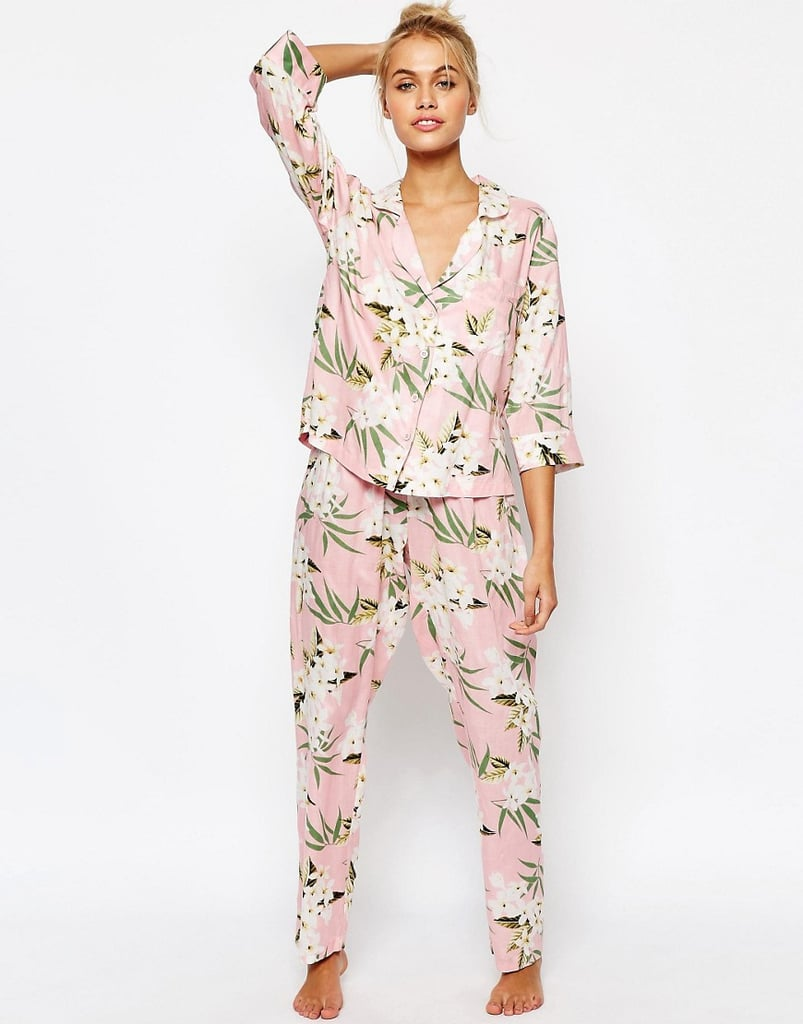 Give the gift of adorable loungewear, the kind that will encourage Mom to take some more time out for relaxing. ASOS Collection Pajama Set ($46)