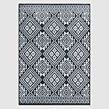 Global Grid Outdoor Rug